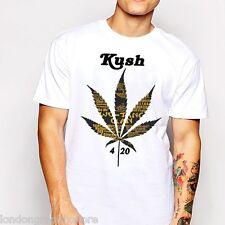 Marijuana T-Shirt, Weed Cannabis, 420, blunt, bong, drugs men swag Wutang Clan
