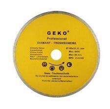 Profi Diamanttrennscheibe 180-250 mm Fliesen Feinsteinzeug Keramik Glasur