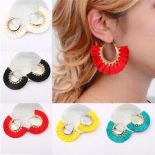 Boho Earrings Fringe Bohemian Women Vintage Long Tassel Earrings Dangle Fashion