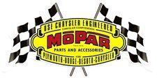 Sticker MOPAR Parts flags