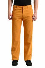 Malo Men's Mustard Yellow Corduroy Casual Pants US 34 38