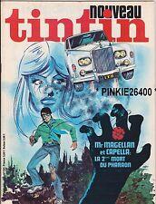 "TINTIN n°101  hebdo  1977 Mr MAGELLAN et CAPELLA "" LA 2è MORT DU PHARAON ""......"