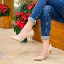 Christian Siriano Women's Habit Nude Pointed Toe Pump Heel Shoes Medium or Wide