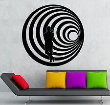 Wall Stickers Vinyl Decal James Bond Agent Killer Spy MI6 CIA (ig2272)