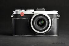Genuine real Leather Half Camera Case Camera bag for Leica X-E Typ 102 X2 X1 B