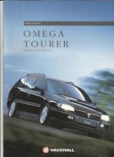 VAUXHALL OMEGA TOURER SALES BROCHURE  1996