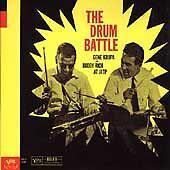 Buddy Rich/gene krupa at jatp -  The Drum Battle CD