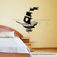 Pirate ship decal sticker p5