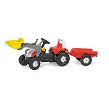 rollyKid Steyr plus Lader mit Anhänger Rolly Toys Trettraktor Kinderauto