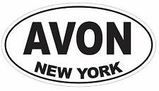 Avon New York Oval Bumper Sticker or Helmet Sticker D3082 Euro Oval