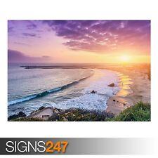 Corona del Mar Newport Beach (3819) cuadro arte cartel impresión de foto A0 a A4