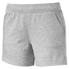 ESS Shorts W PUMA 838423 04 PANTALONCINI French Terry cotone Gray
