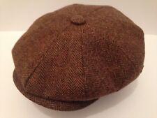 PEAKY BLINDERS NEWSBOY BAKER BOY CAP  M L XL 2XL PAPERBOY CABBY 8 PIECE CAP