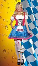 New Beer Maiden Sexy Oktoberfest Women's Halloween Costume