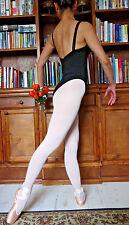 Profesional De Dama O Niña Ballet Baile Negro Leotardo (RAD estilo Mid-Back) - Nuevo