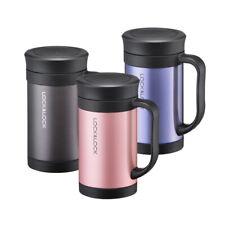 LOCK&LOCK New Thermal Insulated Coffee Filter Mug Cup 400ml