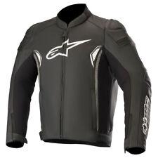 Alpinestars SP-1 V2 Leather Motorbike Motorcycle Jacket Black / Grey