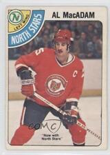 1978-79 O-Pee-Chee #381 Al MacAdam Minnesota North Stars Hockey Card