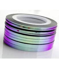 violet flip Nail Art Striping Tape Line Decoration Sticker Roll