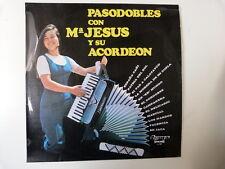 LP pasodobles con Ma JESUS y su acordeon