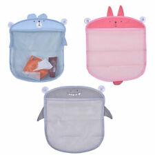 Novelty Animal Mesh Storage Bag Bath Hanging Net Toy Organizer with Suction