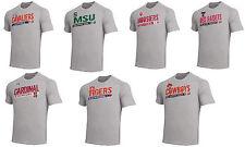 NCAA Team Under Armour Tech Polyester Mens Gray Heather T-Shirt