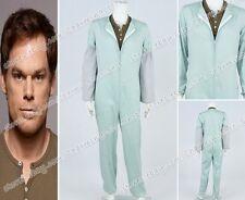 Dexter Cosplay Dexter Morgan Costume TV Jumpsuit Shirt Men's Halloween Uniform