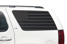 American USA Flag Decals for Rear window 2011-2014 Chevy Tahoe GMC Yukon CT12
