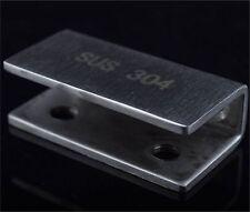 tablettes ferrures de Support pinces pour verre en bois & acrylique tenir 2-20