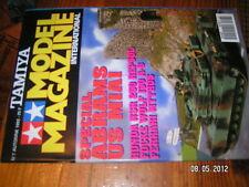 Model magazine tamiya n°7 Abrams US M1A1 NSR 250 Fw 190