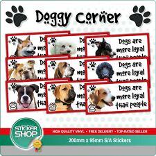 2 x 10cm Rottweiler Dog Sticker Car Bike Laptop Animal Gift Tablet Dogs #5982