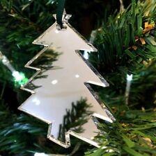 Albero a forma di Natale Decorazioni & verde nastro, confezione da 10, Oro,