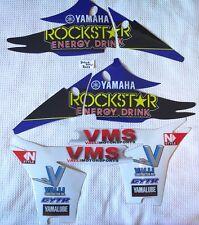 Yamaha YZF450 2010-2013 Valli Sports Rockstar radiator shroud graphics kit