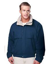 Tri-Mountain Men's Elastic Waistband Zipper Contrast Trendy Fashion Jacket. 5300
