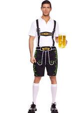 Men's Lederhosen Costume Bavarian Octoberfest Guy Size M & L New by Music Legs