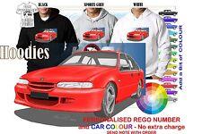 95-97 VS HSV CLUBSPORT SEDAN HOODIE ILLUSTRATED CLASSIC RETRO MUSCLE SPORTS CAR