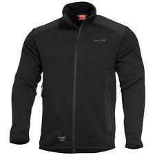 Pentagon Amintor Tactical Sweater Mens Fleece Jacket Army Police Security Black