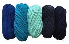 Cuerda de Algodón Cable de 5mm hilo de ganchillo zpaghetti Zpagetti Crochet