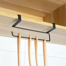 Shelf Toilet Under Cabinet Paper Roll Rack Towel Holder Tissue Hanger