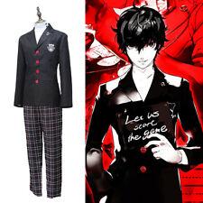Persona 5 P5 Joker Akira Kurusu Ren Amamiya Anime Scuola Uniforme Cosplay Show