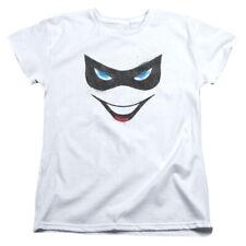 Batman DC Comics Harley Quinn Face Women's T-Shirt Tee