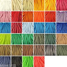 5 Meter 0,20€/m oder 100 Meter 0,12€/m Polyesterkordel 3mm Polyester Schnur