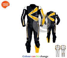giallo e nero MOTOGP RACING gears moto FAST TRACK pelle KIT INTERO