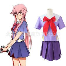 New! Future diary Gasai Yuno Cos clothes Uniforms  Cosplay costume