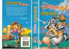 TALE SPIN INTREPIDI AVIATORI (1991) VHS