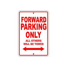 Forward Parking Only Basketball Player Gift Decor Novelty Garage Aluminum Sign