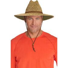 Coolibar UPF 50+ Men's Straw Beach Hat