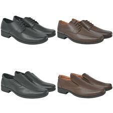 vidaXL Zapatos de Vestir Negocios Hombre Cordones Varias Tallas/Colores Cuero PU