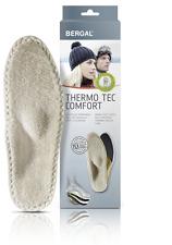 Bergal thermo-tec Comfort semelle intérieure taille 36 - 48 contre les pieds froids avec voûte poteau