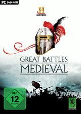 Gioco PC The History Channel: Great Battles Medieval spedizione DVD NUOVO